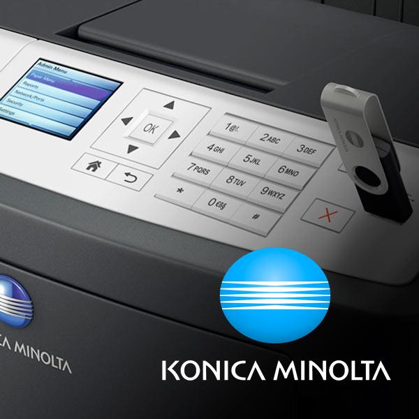 Stampa Laser B/N Konica Minolta